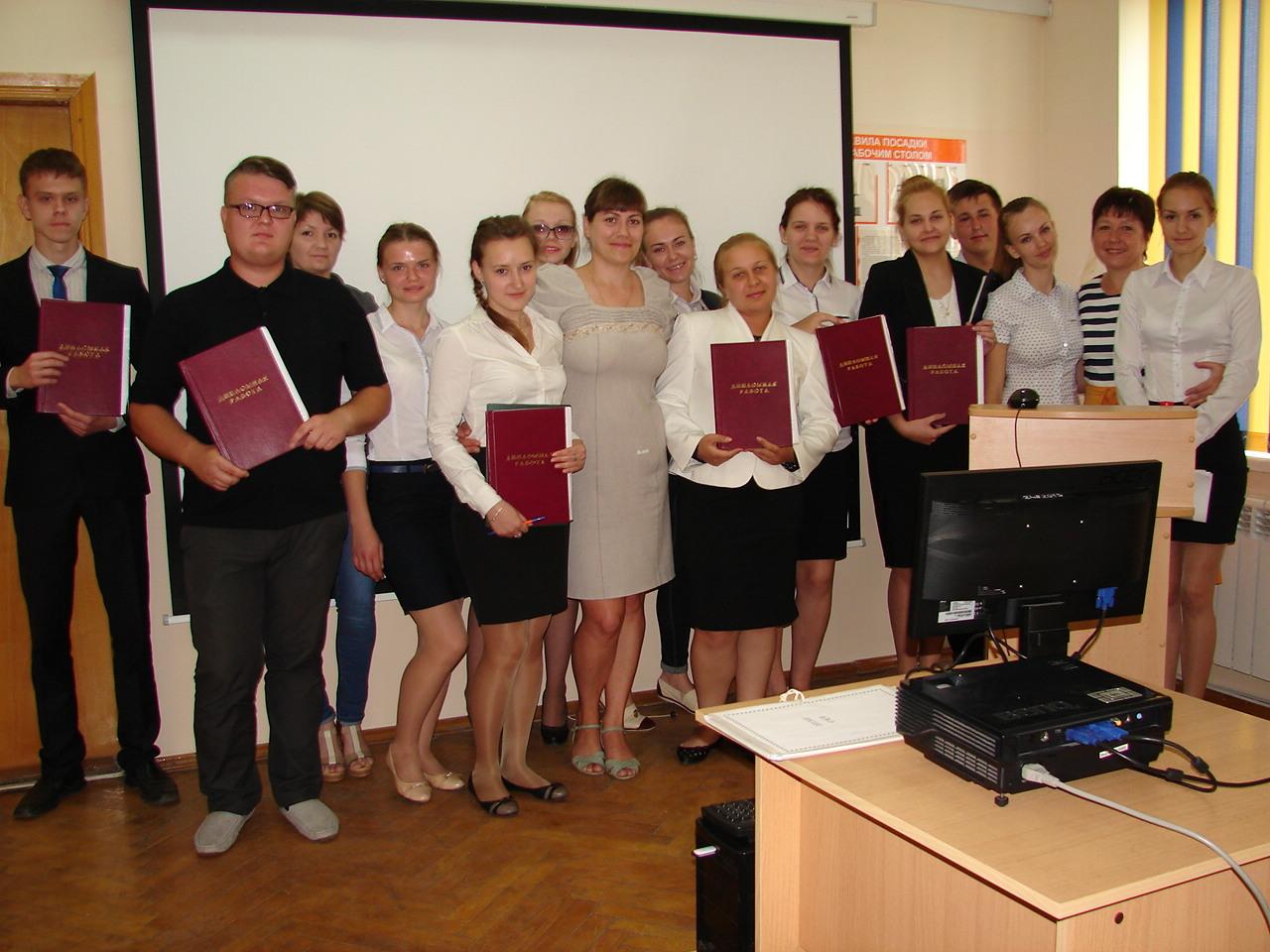 Защита дипломных работ выпускниками филиала в п Мостовском  dsc01929